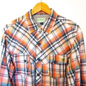 LIFTED RESEARCH GROUP LRG Men Shirt Size M Flannel